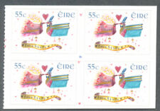 Ireland-Weddings mnh block(4) 2010 (1990)
