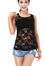 Lace Boat Neck Party Tops & Shirts for Women