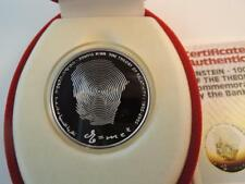Israel 2005 Albert Einstein, Relativity Theory 100 Years BU Silver Coin +box+COA