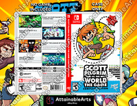 Scott Pilgrim vs. The World: The Game - Game Case (Switch,2021) - NO GAME INCL