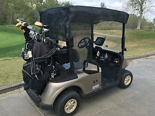 "Golf Cart Sun Shade for 2 seater or 4 seater roof up to 58"" Black color"