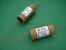 0,1µF Copper PIO Capacitor -> 2A3 KT88 EL34 6L6 tube amp / Röhrenverstärker