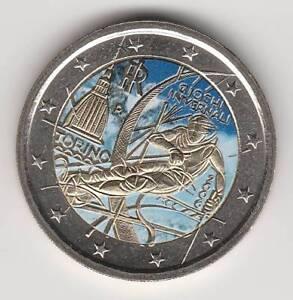 A --  2006A - 2 EURO C0ULEUR --- ITALIE / GIOCHI INVERNALI TORINO