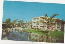 The Edward James Hotel Gait Boulevard St Petersburg Florida USA Postcard 932a