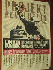 "LINKIN PARK - PROJEKT REVOLUTION - OFFICIAL SIGNED TOUR LITHOGRAPH - 18"" X 24"""