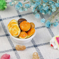 1:12 Dollhouse Miniature Food Bread Dining Room Bakery Pastry Kitchen Decor  Hu
