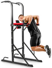 Station Dips Hs-1004k Hop-sport Barre de Traction Pull Push Tower Musculation