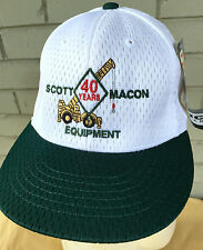Scott Macon Cranes Lifting Equipment Houston Texas Adjustable Baseball Cap Hat