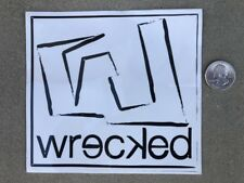 New Wrecked Vintage Rare Skateboard Longboard Skate Surf Decal Sticker