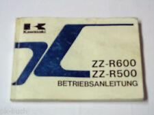 Betriebsanleitung Kawasaki ZZ-R 500 / R 600 Stand 1990