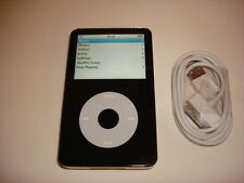 APPLE  IPOD  VIDEO  5TH  GEN.  CUStOM  BLACK  100GB...WOLFSON CHIP...