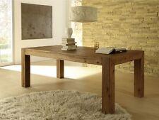 Esszimmertisch 160x90 Holztisch Esstisch Küchentisch Tisch Natur Massiv Akazie