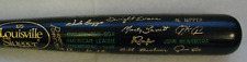 1986 Boston Red Sox American League Champions Black Bat