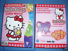 SANRIO HELLO KITTY Childrens Computer Software NIP