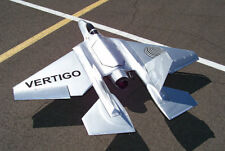 VERTIGO Rebel jet 120mm EDF or turbine radio control r/c airplane