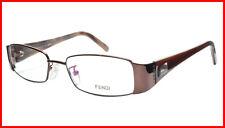 64ff104c9478 FENDI Eyeglasses Frame F892 (212) Metal Acetate Bronze Italy Made 52-17-