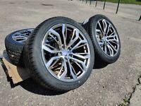 21 pouce roues ensemble + pneus d'été pour BMW X5 E53 E70 F15 X6 E71 F16 + TPMS