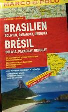 Brasile, Bolivia, Paraguay, Uruguay 1:4.000.000 di Marco Polo,  2012,  97888663