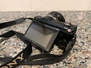 Sony Alpha A5100 24.3MP Digital Camera - Black (Kit with 16-50mm Power Zoom...