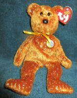 Ty Beanie Baby Decade the Brown Bear January 22, 2003 MWMT Free Shipping
