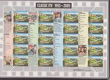 GB QEII SMILER STAMP SHEET UMM MNH 2005 LS26 CLASSIC ITV EMMERDALE