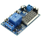 DC 12V Trigger Cycle Automation Timer Delay Relay Module 3-4 Digital LED