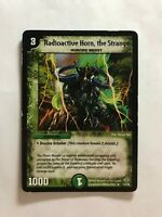 Duel Masters DM12 15/55 Rare Radioactive Horn, the Strange PLAYED Condition