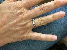 NORDSTROM Ring size 7 with multi-color gemstones