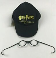 NWT Harry Potter & The Order Of The Phoenix Hat & Glasses Scholastic Promo 2003