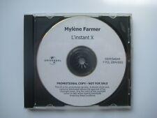MYLENE FARMER CD PROMO L INSTANT X RARE