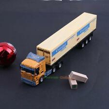 1:48 Transport Container Truck Alloy Vehicle Model Simulation Toy Gift Boys Girl