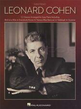 Leonard Cohen Easy Piano Sheet Music Book 12 Classics Suzanne Hallelujah