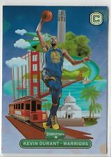 2018-19 PANINI CORNERSTONES KEVIN DURANT DOWNTOWN SP SSP WARRIORS NETS 1663