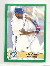1996 Panini Baseball Sticker - #162 - Joe Carter - Toronto Blue Jays