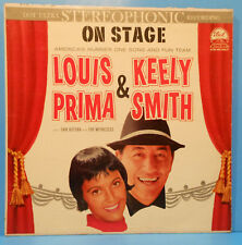 LOUIS PRIMA KEELY SMITH ON STAGE  LP '60 ORIGINAL PRESS NICE CONDITION! G+/VG+!!