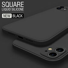 Para iPhone 12 Mini 12 Pro Max 11 XS Xr X 8 7 6 Cubic Liquid Silicona Funda Cubierta