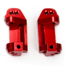 Traxxas Monster Jam 1:10 Alloy Caster Block, Red by Atomik - Replaces TRX 3632