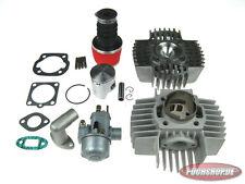 Komplettsatz DMP 70ccm Zylinder K-star Kopf Vergaser Puch Maxi E50 Cylinder kit