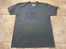 UCLA Bruins Adidas Respect The Bruins Shirt Adult Large NCAA Gray Football