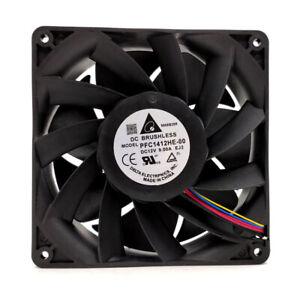 1pc Delta PFC1412HE-00 12V 9.00A 14038 14CM E10 Violent Server  cooling Fan