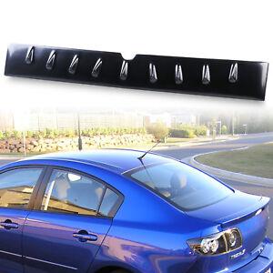 ABS Shark Fin Rear Roof Wing Spoiler for Mazda3 Mazda 3 04-09 Sedan Axela
