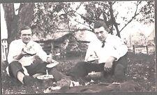 VINTAGE RPPC 1915 UNIVERSITY MISSOURI COLUMBIA COLLEGE FRATS WATERMELON POSTCARD