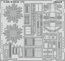 Eduard 1/72 North-American B-25C/D Mitchell Detail Set # 73628