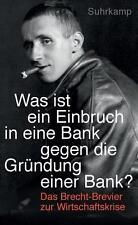 """""""Was ist ein Einbruch in eine Bank gegen die Gründung einer Bank?"""": Das Brec //2"""