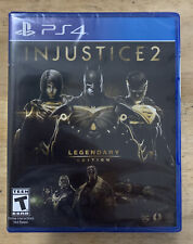 Injustice 2: Legendary Edition PlayStation 4 PS4 Brand New Video Game Rated T