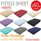 1000TC SOFT Egyptian Pure Cotton Fitted Sheet (No Flat Sheet or Pillowcase)