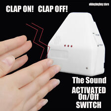 The Switch Sound Activated Switch On / Off Clap Electronic Gadget Hand Us Oh