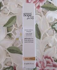 PHILOSOPHY~Renewed HOPE IN A JAR GLOW DROPS~.5 oz NIB *Instant Radiance*