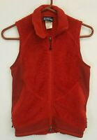 Patagonia R2 Regulator Vest Womens Sz XS Fleece Full Zip Polartec Red Crimson
