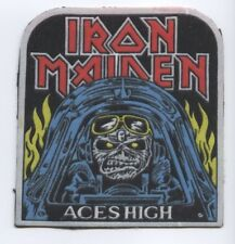 Iron Maiden Aces High synthetic 3D patch early 80's RARE